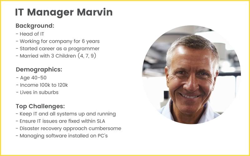 Guide To Running An Inbound Marketing Campaign - Inbound Buyer Persona Marvin